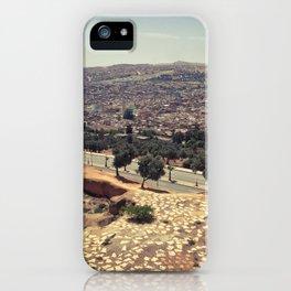 Fez - the ancient city. Original photograph. iPhone Case
