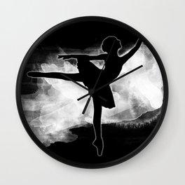 Monochromatic Study of Dance Wall Clock