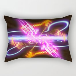 Augmented Warp Rectangular Pillow