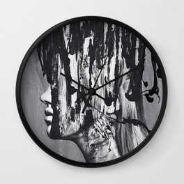 The Confrontation Wall Clock