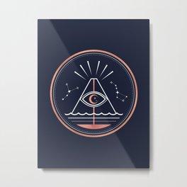 Iddu or Volcan Stromboli Metal Print