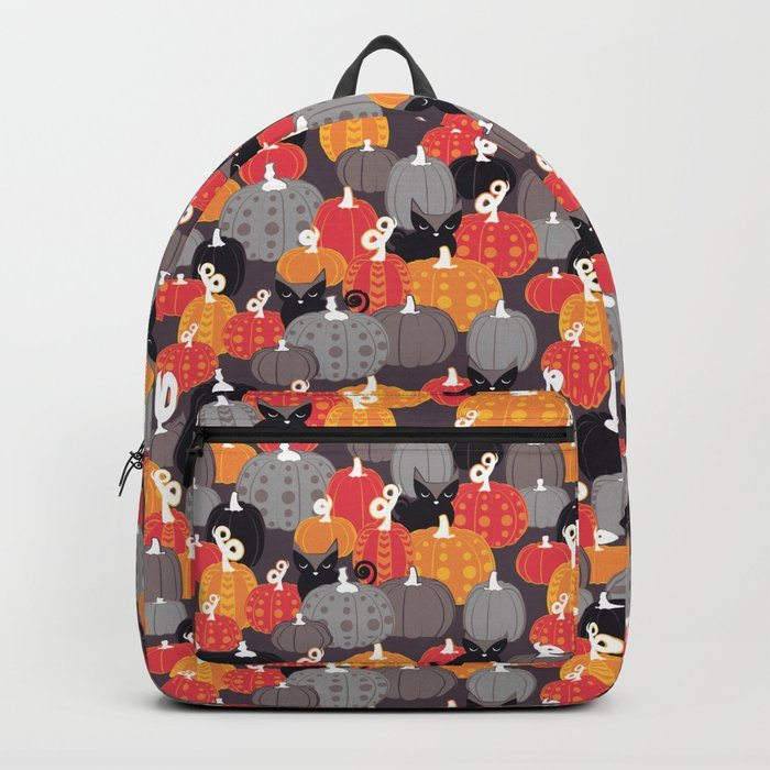 Find the Halloween Black Cat Backpack
