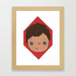 Little Louis Framed Art Print