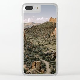 Balanced Rock Valley View in Big Bend - Landscape Photography Clear iPhone Case