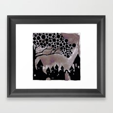 noturne city Framed Art Print