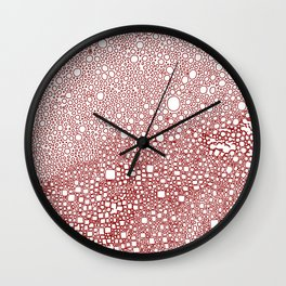 Meditation design Wall Clock