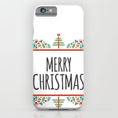 MERRY CHRISTMAS3 iPhone 6s Slim Case