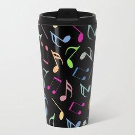 Music Colorful Notes II Travel Mug