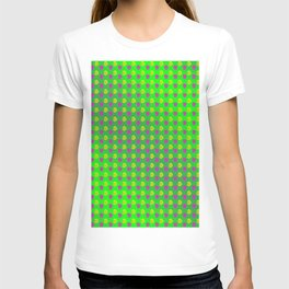 Pattern by little roses T-shirt