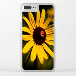Rudbeckia Clear iPhone Case