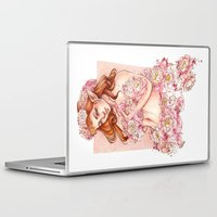 shield Laptop & iPad Skins featuring Shield by Raquel Amo Art