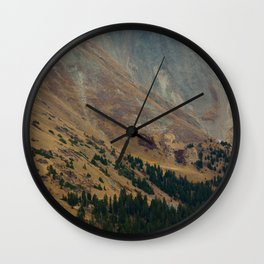 warm valley Wall Clock