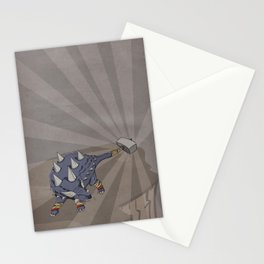 Ankylothorus - Superhero Dinosaurs Series Stationery Cards