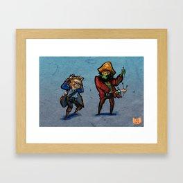 Use Verb on Noun #32: Monkey Island 2: LeChuck's Revenge Framed Art Print
