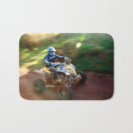 ATV offroad racing Bath Mat
