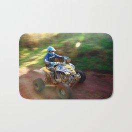 ATV offroad racing Bath Mat