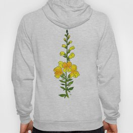 Yellow Snapdragon Hoody