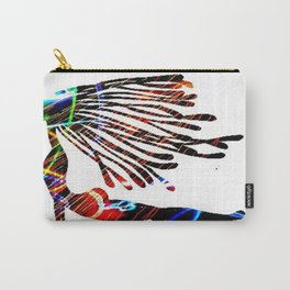 Cosmic Girl In Asana Carry-All Pouch