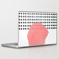 polka dot Laptop & iPad Skins featuring polka dot by Ceren Aksu Dikenci