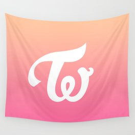 Twice Logo Wall Tapestry