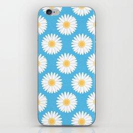 Spring Daisies_Blue Sky iPhone Skin