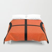 basketball Duvet Covers featuring Basketball by Rorzzer