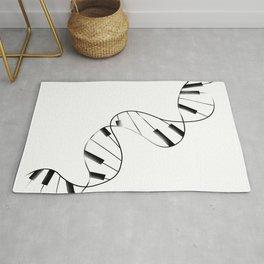 DNA Piano Rug