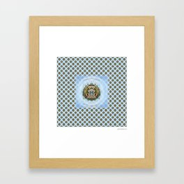 Blotter Art #1 Framed Art Print