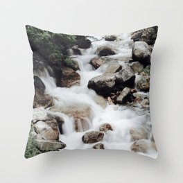back country streams Throw Pillow