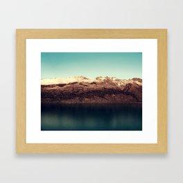 Distant kingdom Framed Art Print