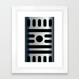 Micro iPhone Framed Art Print