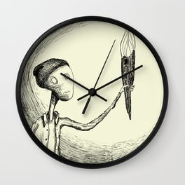 There's Nothing Here Wall Clock