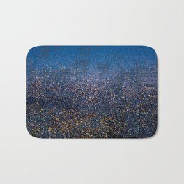 Downtown in Drizzle Bath Mat