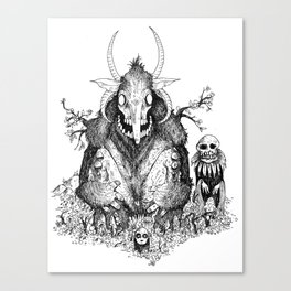 KING FOREST Canvas Print