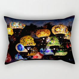 lanterns - night lights Rectangular Pillow