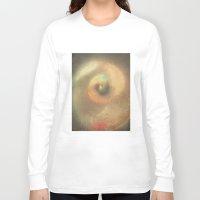 seashell Long Sleeve T-shirts featuring Seashell Impressions by Klara Acel