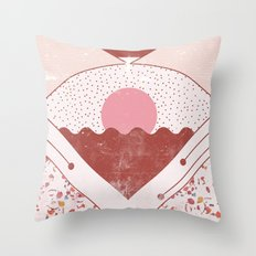 6 Wall Throw Pillow