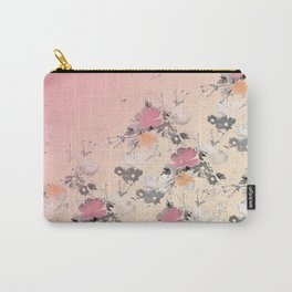 ombre floral - all Carry-All Pouch