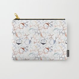 Chaotic Particle Physics on White Carry-All Pouch