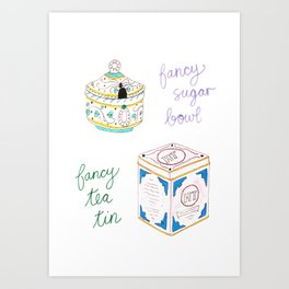 Fancy Things Art Print