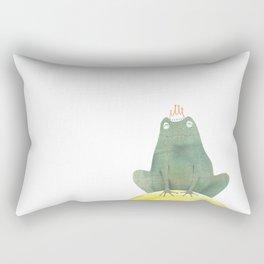 Frog prince Rectangular Pillow