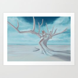 Going with the wind Art Print