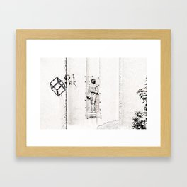 Belgrade / Facade 01 Framed Art Print
