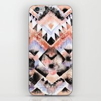 southwest iPhone & iPod Skins featuring Southwest Floral by Casey Saccomanno