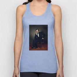 President Abraham Lincoln Painting Unisex Tank Top