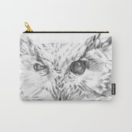Cock-eyed Owl Carry-All Pouch