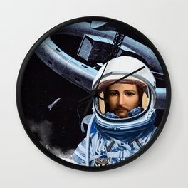 Space Station Code Name: Pearly Gates Wall Clock