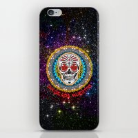day of the dead iPhone & iPod Skins featuring Day of the Dead by Gary Grayson