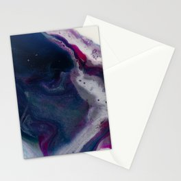 In Bloom - Resin art Stationery Cards