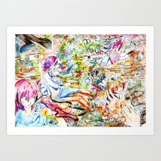 Confusing Colors Art Print